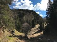 Sul sentiero CAI 402a verso il passo Cavallo