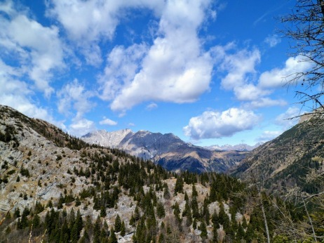 Panorama verso l'Austria