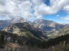 Panorama verso Freikodfel e Pal Piccolo