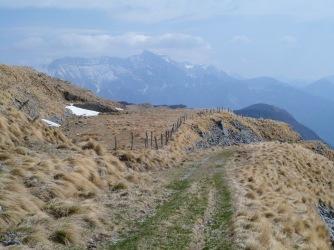 Panorama verso il monte Nero