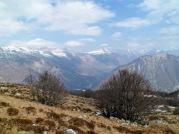 Panorama verso le Giulie Slovene