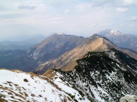 La dorsale verso il Gran Monte