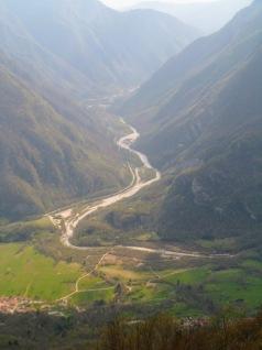 La valle dell'Isonzo