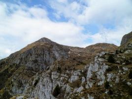 A sx il monte Verzegnis