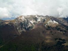Panorama verso monte Teglara e Burlat