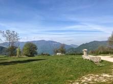 Panorama verso monte Stol