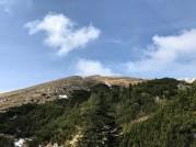 La cima del Krasji Vrh