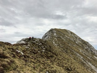Cresta del Monte Caulana.