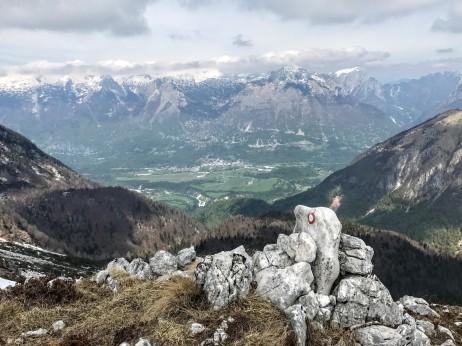 Panorama verso Bovec