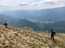 Valle dell'Isonzo verso Tolmino
