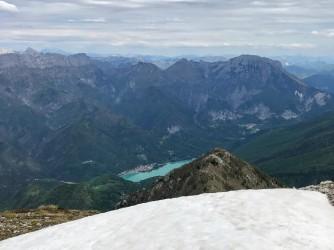 La conca di Barcis e l'omonimo lago.