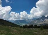 Panorama verso la val Cellina