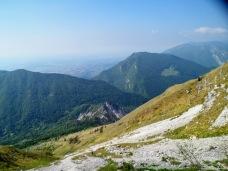 Panorama verso monte Fara