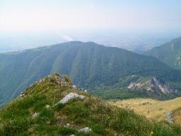 Panorama verso monte Jouf