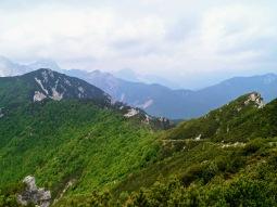 Panorama verso la val Aupa