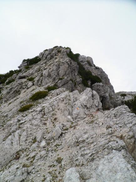 La cresta per la Creta dai Rusei