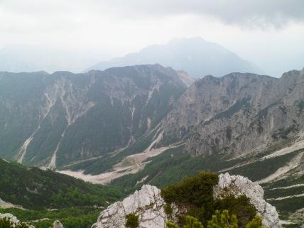 Panorama verso la val di Gleris