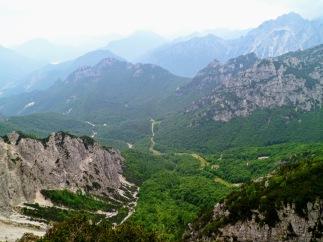 Panorama verso la val Alba