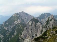 Panorama verso la Creta dai Rusei