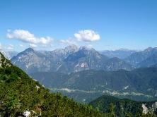 Panorama verso monte Pisimoni e Zuc dal Bor
