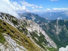 Sulla cresta del monte Musi