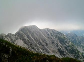 Cima Ovest del monte Musi