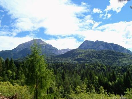 Panorama verso il Clapsavon