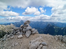 Cima del monte Cregnedul