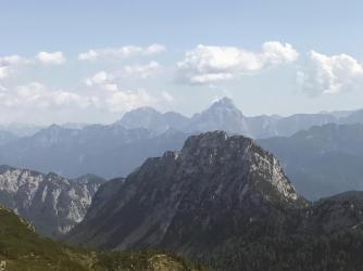 Panorama verso le Giulie.