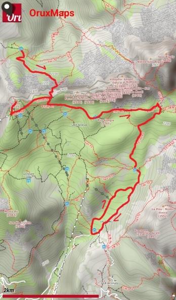 Puez-Odle giorno 3_mappa