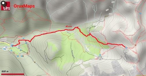 Puez-Odle giorno 7_mappa