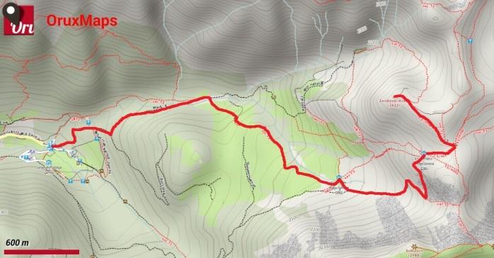 Puez-Odle giorno1_mappa
