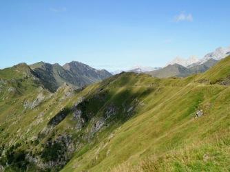 Panorama verso il monte Crostis