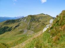 Panorama verso monte Crostis
