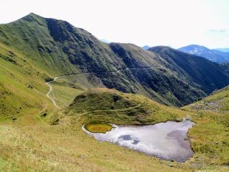 Lago Tarond e Panoramica delle Vette