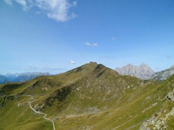 Monte Crostis dal monte Pezzacul