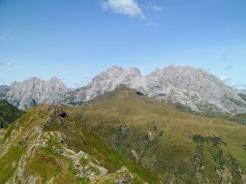 Coglians e Chianevate dal monte Pezzacul