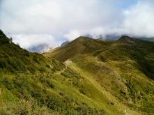 Verso il monte Floriz