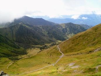 La valle verso Collina