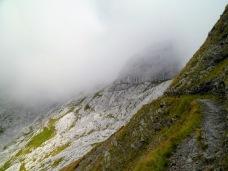 Si sale verso il monte Coglians