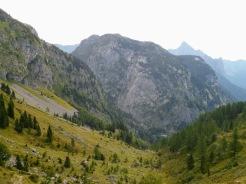 Panorama verso il Pal Piccolo