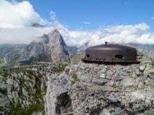La cupola della trincea austro-ungarica