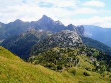 Panorama verso Freikofel (Cuelat) e Creta di TImau