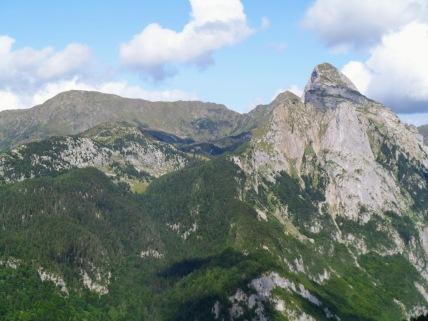 Panorama verso Creta di TImau