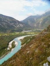 Il paese di Zaga e l'Isonzo