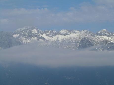 Panorama verso il monte Forato