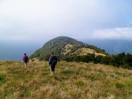 Si scende verso il Veliki Polovnik