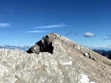 La cima della Mala Mojstrovka.