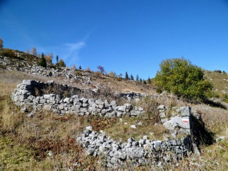 Ruderi di malga Pezzeit di Sopra