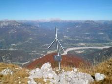Vetta del monte Burlat